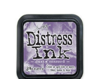 Tim Holtz Distress Ink-Dusty Concord