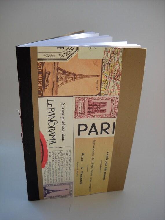 Paris Ephemera Notebook
