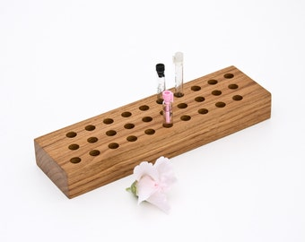 Perfume Sample Holder Fragrance Cologne Essential Oil Sample Organizer STEPHEN