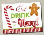 Printable Holiday Party Sign - DIY You Print