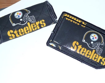 Pittsburgh Steeler Luggage Tag and Luggage Spotter-- Free Ship
