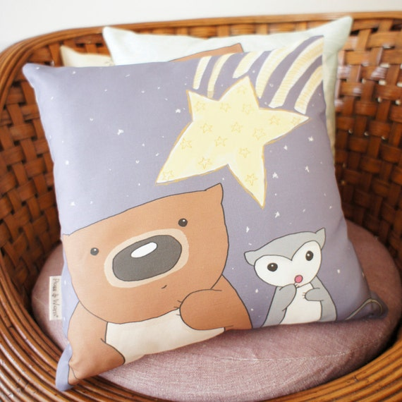 Cushion Cover, pillow case Shooting Star