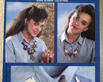 Country Jewelry Pattern  by Leisure Arts Leaflet 1221  More Country Jewelry