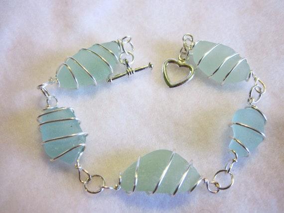 tumbled beach glass jewellery stud earrings how to make