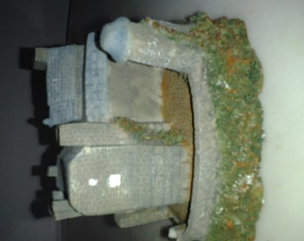 Fairytale Castle Fortress Figurine