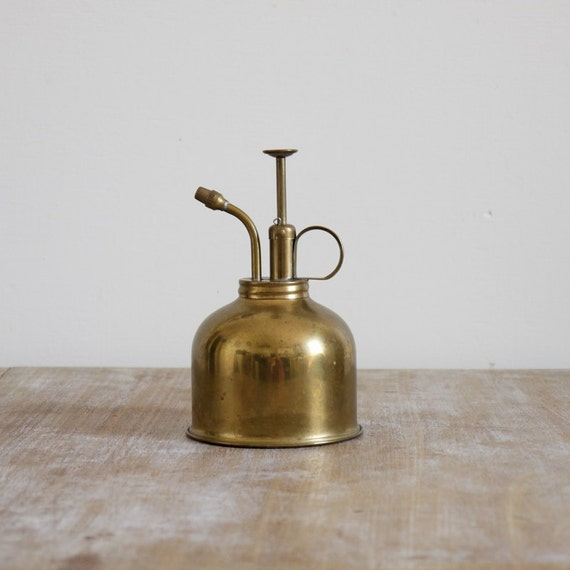 Vintage brass watering spritz atomizer atomiser for plants bonsai or green house