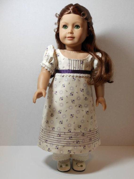 1812 Dress and Pantalets for Caroline