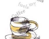 Coffee Dreams Card