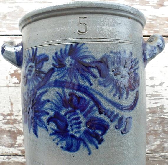 Antique Stoneware Crock / Churn  5