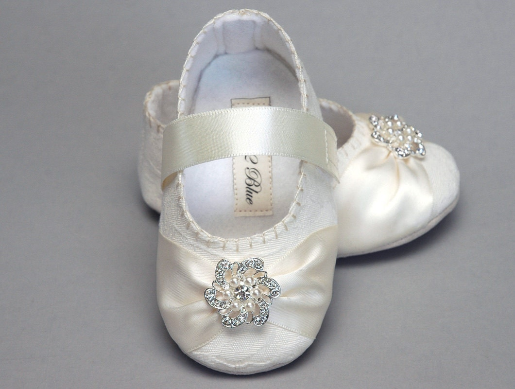 wedding flower girl shoes baby shoe caroline wedding flower christening 9504