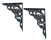 Vintage Brackets Iron for Wall Shelves Unused Wilton Products PA
