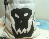 Orc Skull Dice Bag 1
