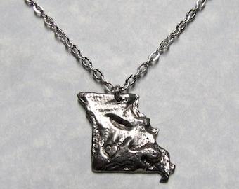 Missouri Love State Pendant Necklace