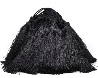 10 Black Tassels Perfect for So Many Projects - Z39