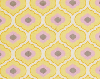 Pretty Little Things Ella in Yellow Fabric Dena Designs 32 Inches END OF BOLT