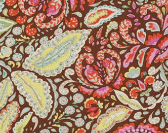 Fabric by the Yard, Cotton Fabric, Jocelyn in Brown, Dena Designs, Pretty Little Things, Quilt Fabric