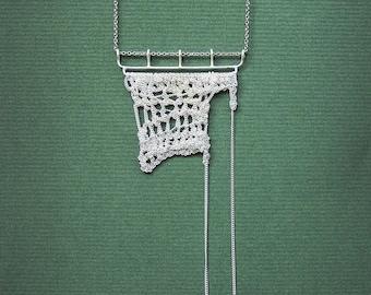 Rio Blanco crochet necklace