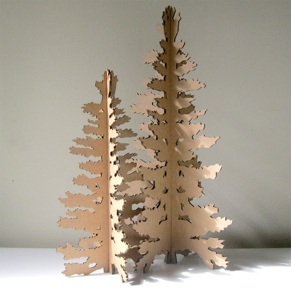 Tree - Christmas in July, Paper Christmas Tree, Holiday Decoration ...
