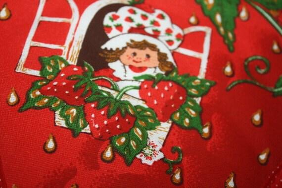 Strawberry Shortcake Pot Holder Excellent Condition