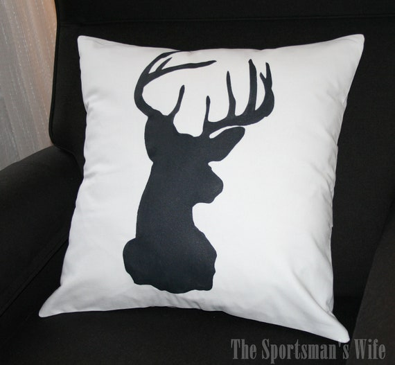 Animal Silhouette Pillow Covers : Unavailable Listing on Etsy