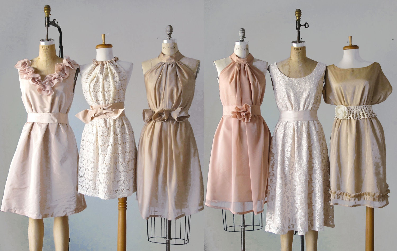 mismatched bridesmaid dresses Dress by AtelierSignature
