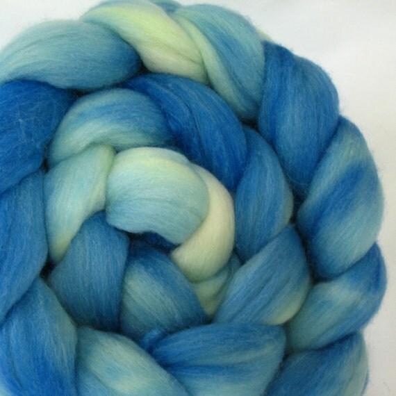 Polwarth Silk Roving Hand Dyed (APS640)
