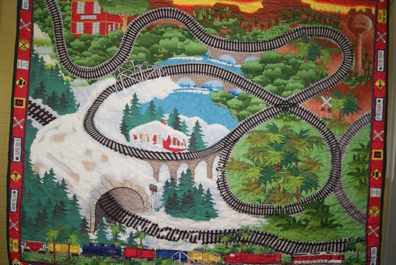 Train Track Quilt