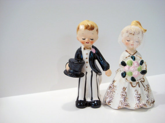 picture holder wedding cake topper vintage wedding cake topper 50s candle holder 18353