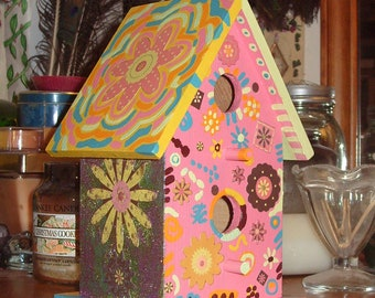 Silly & Fun Teen Scrapbook Birdhouse