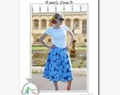 Free US Shipping - Duchess Skirt Womens Sewing Pattern - Rebekah Merkle - Amoretti by Me