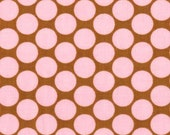 FULL MOON DOT in Camel - Amy Butler  - Lotus collection - By the Yard
