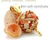 Gift Certificate for The Beaded Bead - Fifty Dollars - Instant Download