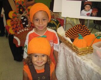 Youth Pumpkin Hat
