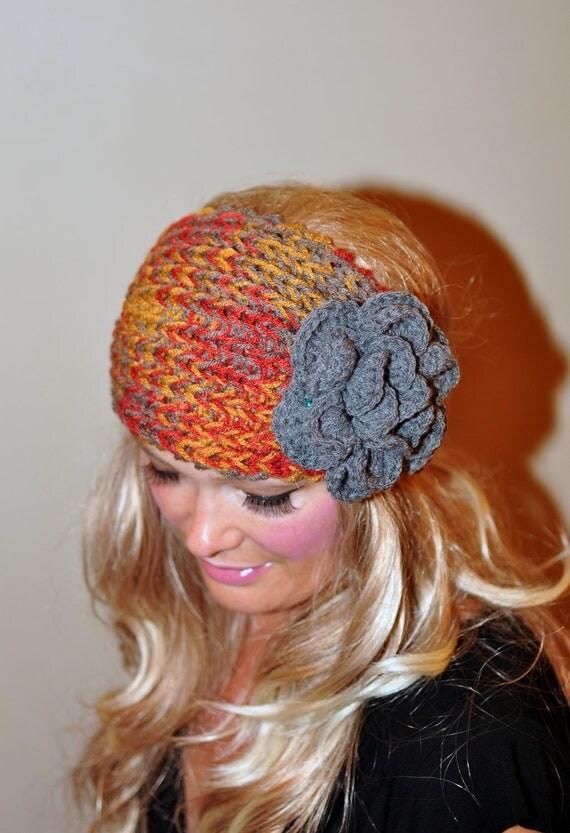 Items Similar To Crochet Headband Ear Warmer Head Wrap