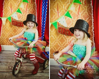 Circus Fun Tutu by Atutudes - As seen on EtsyLush and Make It Mine Parties