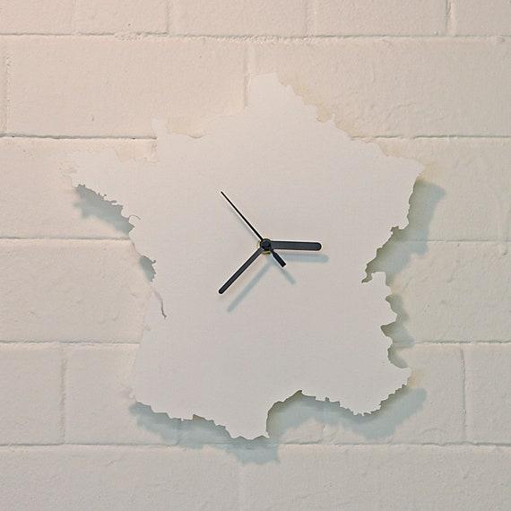 France clock (White)