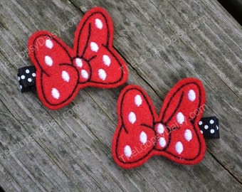 Minnie Mouse Bow, Minnie Mouse Hair bow, Minnie Mouse Costume, Minnie Mouse Birthday, MInnie Mouse tutu, Minnie Mouse Dress, Disney Bow