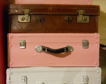 Suitcase stack without the brown one 3 suitcases painted in your colors
