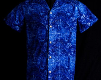 Uncharted Waters limited-edition ultra-high quality men's shirt