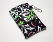 Custom fabric cell phone holder, iPhone SE, 6 6s Plus, 7 plus, 5 5s 5c 4s 4 smartphone, wallet, case, purse, sleeve, pouch-Child's Dream