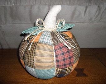 Fall Decoration - Fabric Pumpkin Large