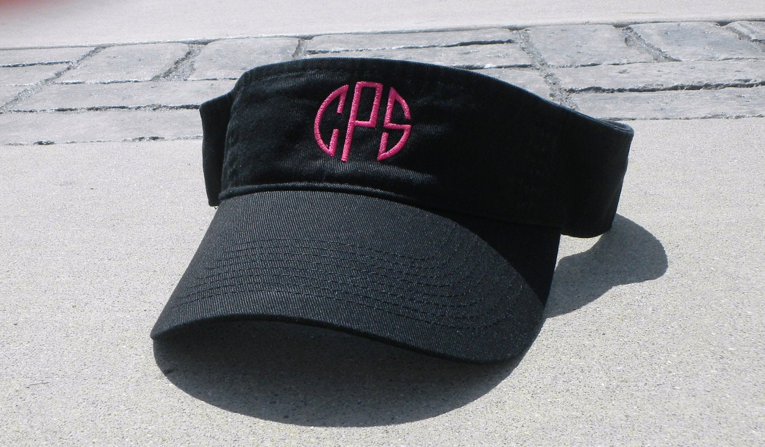 Personalized Monogrammed Sun Visor Many Colors Available