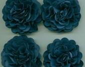 Navy Blue Carnation Paper Flowers