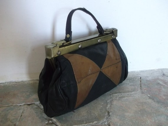 French Vintage 'Doctor' Bag