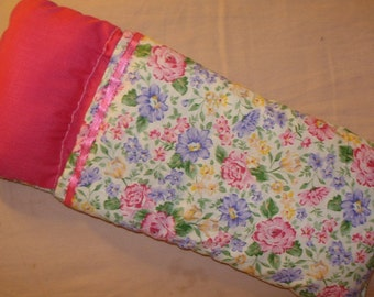 Sleeping bag in a colorful floral print for Fashion Dolls - bsb4