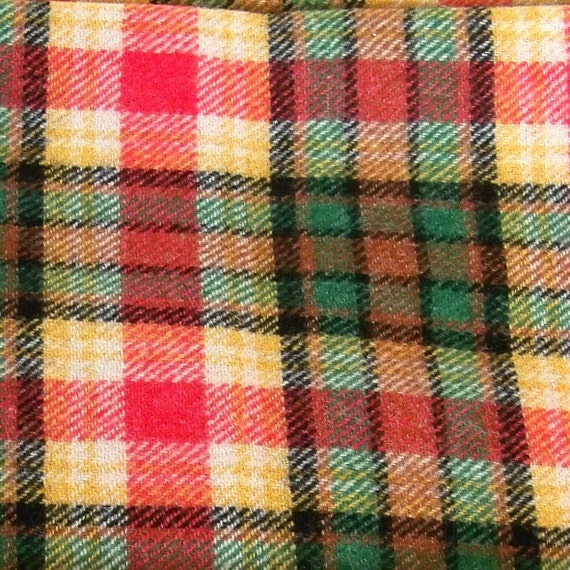 Vintage Wool Fabric 44