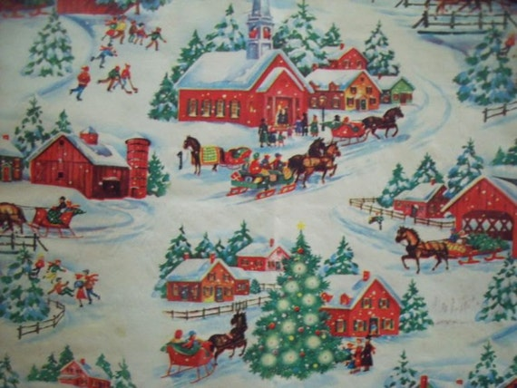Vintage Christmas In The Country Gift By Cindyscozyclutter