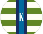 mousepad - PREPPY pattern with monogram