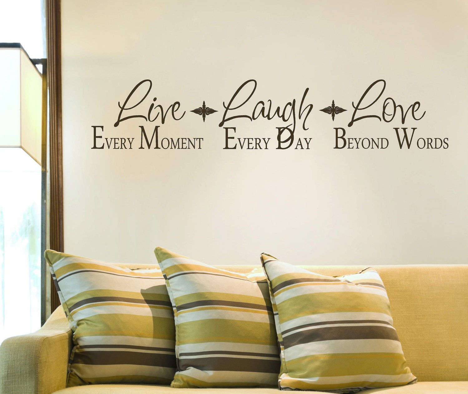 Live Laugh LoveVinyl Lettering wall words by itswritteninvinyl