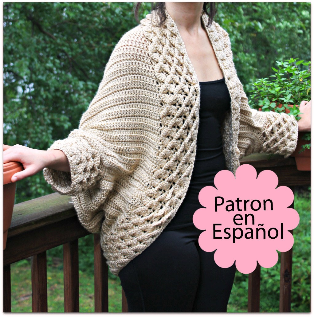 Abrigos a crochet con patrones - Imagui